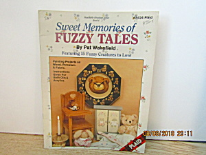 Plaid Book Sweet Memories Of Fuzzy Tales #8424