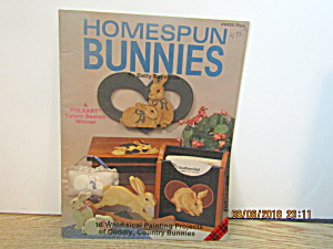 Plaid Painting Book Homespun Bunnies #8425