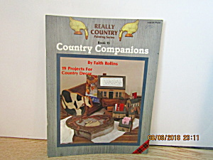 Plaid Painting Book Really Country Companions #8429