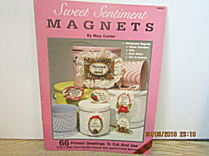 Plaid Craft Book Sweet Sentient Magnets #8455