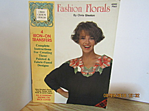 Plaid Book Fashion Florals Iron-on Transfers #8503