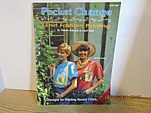 Plaid Painting Book Pocket Change T-Shirt Fashion #8510 (Image1)