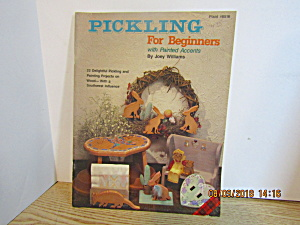 Plaid Pickling For Beginners With Painted Accents #8516