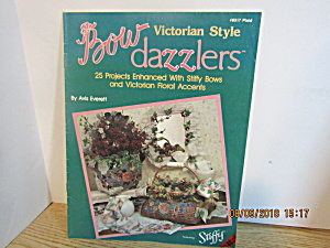 Plaid Craft Book Bow Dazzlers Victorian Style #8517