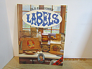 Plaid Painting Book Old Fashioned Labels #8527