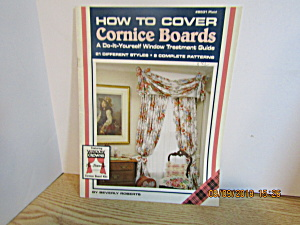 Plaid Book How To Cover Cornice Boards #8531