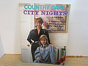 Plaid Craft Book Country Days-city Nights #8544
