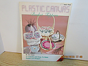 Plaid Craft Book Plastic Canvas Basket Toppers #8551