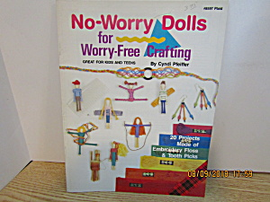 Plaid Book No-worry Dolls For Worry-free Crafting #8597