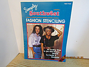 Plaid Book Simply Southwest Fashion Stenciling #8601