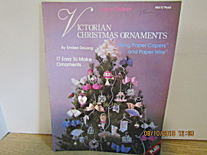 Plaid Craft Book Victorian Christmas Ornaments #8610