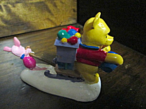 Disney Pooh & Piglet Resin Christmas 0rnament