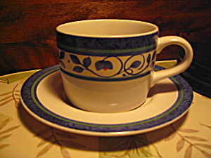 Pfaltzgraff Orleans Cup And Saucer Set