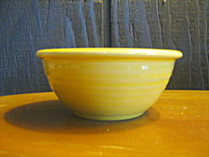 Pottery Bowl Yellow