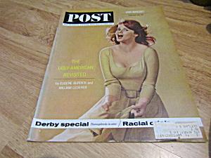 Vintage Magazine Saturday Evening Post May  4, 1963 (Image1)