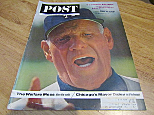 Vintage Magazine Saturday Evening Post May 11, 1963