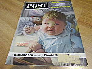 Vintage Magazine Saturday Evening Post  Feb 16, 1963 (Image1)
