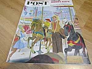 Vintage Magazine Saturday Evening Post Aug 9,1958 (Image1)