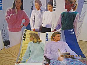 Patons Women's Pattern Sheet Sets #4 (Image1)