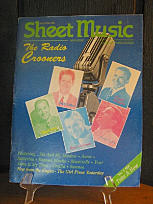 Sheet Music Magazine The Radio Crooners