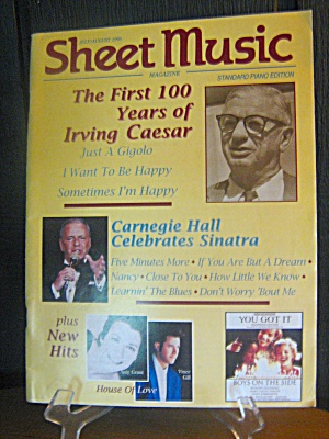 Sheet Music Magazine The First 100 Years Irving Caesar