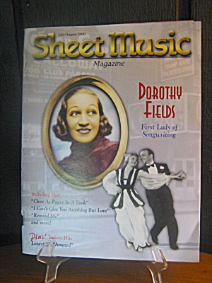 Sheet Music Magazine Dorothy Fields