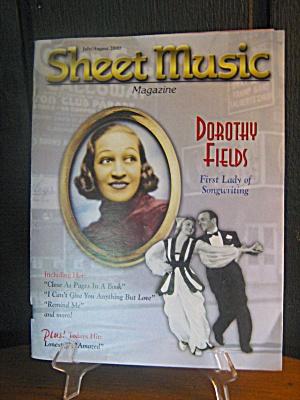 Sheet Music Magazine Dorothy Fields (Image1)