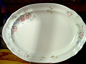 Pfaltzgraff Tea Rose Large 14.75 Inch Platter