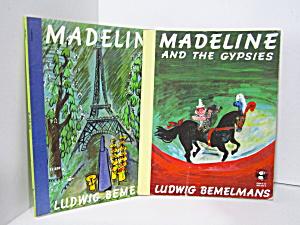 Vintage Children's Book Set Madeline Books (Image1)