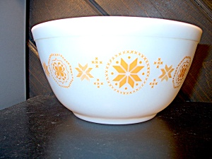 Vintage Coring Pyrex Town & Country 1.5 Qt Nesting Bowl