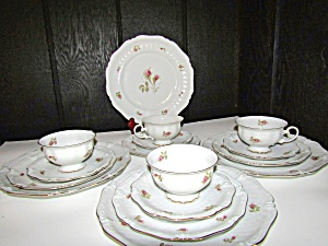 Vintage Dinnerware Royal Coburg, 010775 Service For 4.