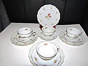Vintage Dinnerware Royal Coburg, 010775 Tea Snack Set.