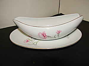 Royal Court Carnation Gravy Boat