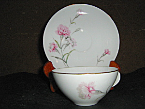 Royal Court Carnation Cup And Sauser Set
