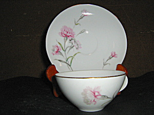 Royal Court Carnation Set Of 4 Cup And Sauser Sets