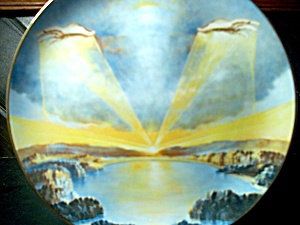 The Creation Series In The Beginning Plate