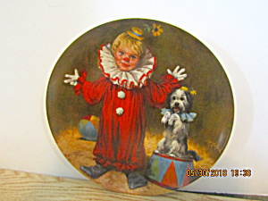 Roco Tommy The Clown Mcclelland Childrens Circus Plate