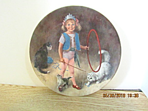 Maggie Animal Trainer Mcclelland Childrenscircus Plate