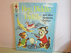 Rand Mcnally Book Hey Diddle Diddle & Other Rhymes