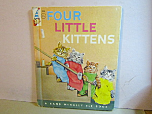 Rand Mcnally Book Four Little Kittens