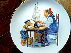 Rockwell Plate For A Good Boy