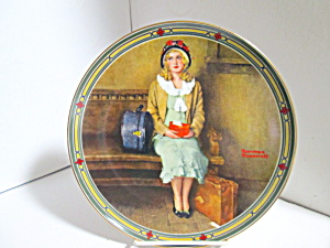 Rockwell Limited Edition Plate A Young Girl's Dream