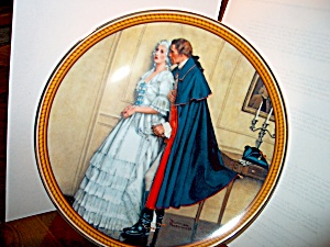 Limited Editiomrockwell Plate The Unexpected Proposal