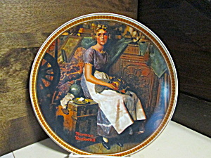 Limited Editionrockwell Plate Dreaming In The Attic