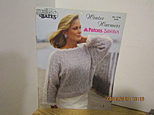 Susan Bates Patons Winter Warmers Sweaters #17746