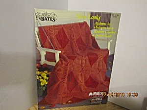 Susan Bates New Looks Afghans To Knit Or Crochet #17765