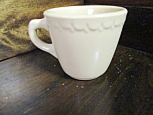 Vintage Syracuse China Adobe Econo Rim Coffee Cup