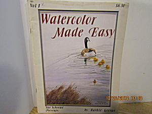 Sue Scheewe Painting Book Watercolor Made Easy #190