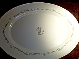 Petite Bouquet Serving Platter