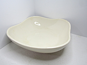 Vintage Syracuse China Square Cream Serving Bowl